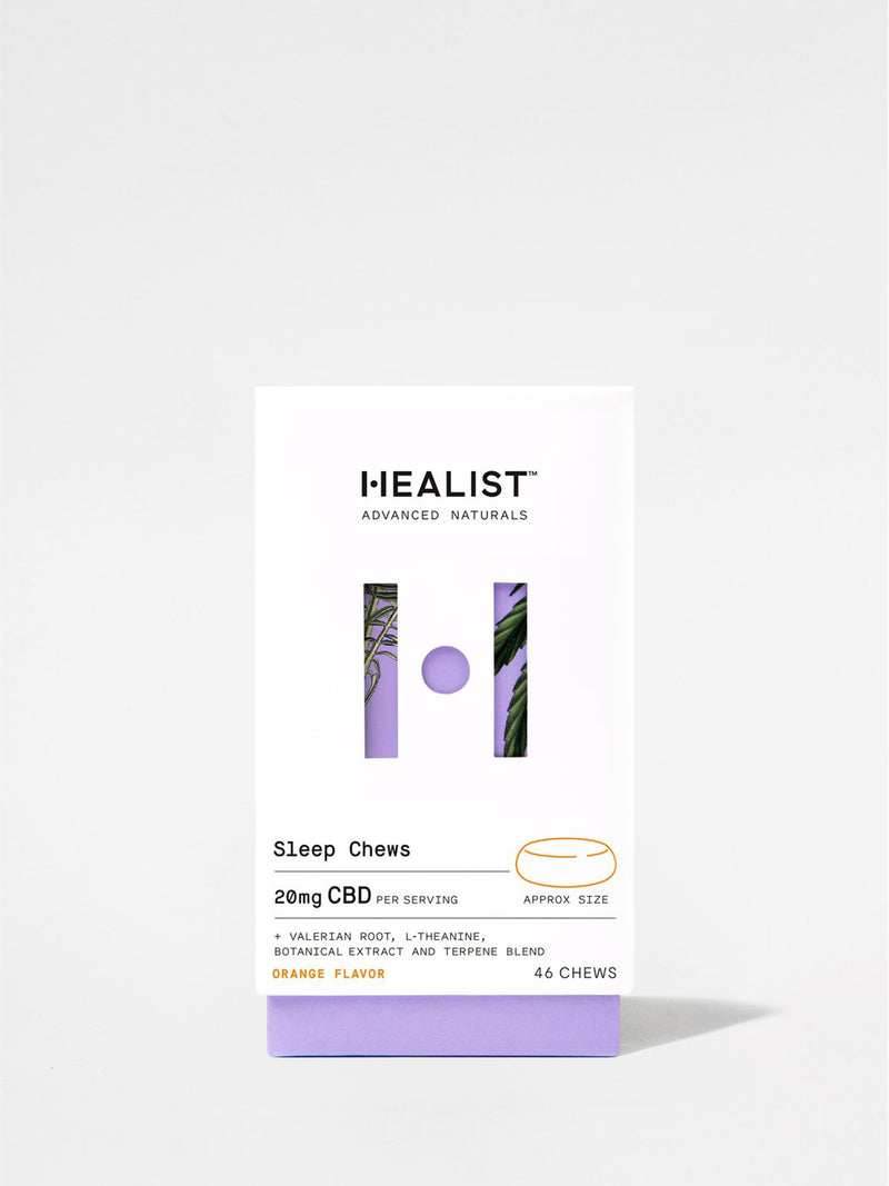 Healist Sleep Chews Box Front