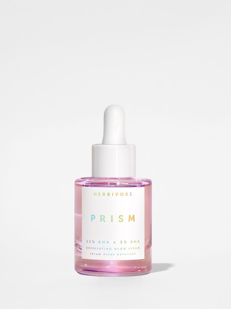 Herbivore Prism 12% AHA + 3% BHA Exfoliating Glow Serum 1oz Bottle