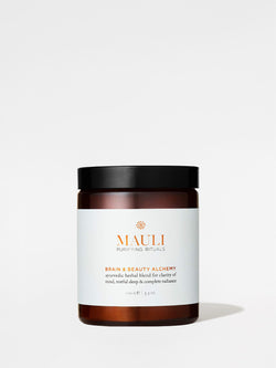 Mauli Rituals Brain & Beauty Plant Alchemy 100g Jar