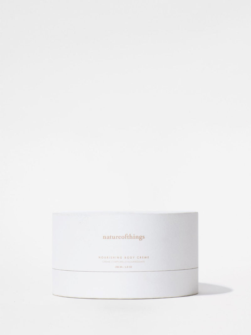 natureofthings Nourishing Body Creme box front