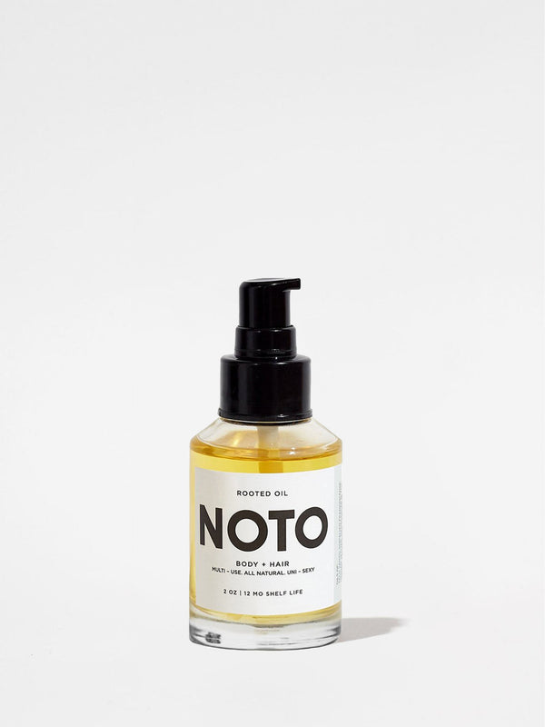 NOTO Botanics Rooted Oil 2oz