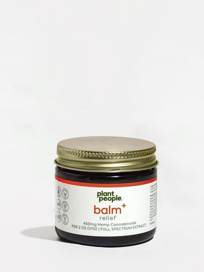 Plant People Balm+ Relief Jar