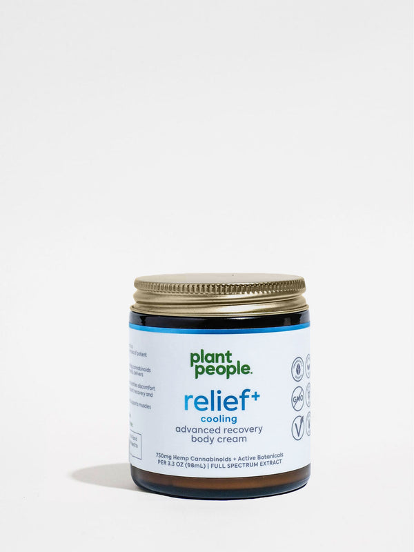 Plant People Relief+ Cooling Cream 3.3oz