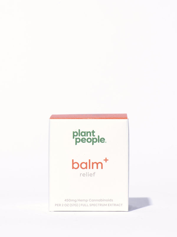 Plant People Balm+ Relief Box Front