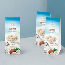 Load image into Gallery viewer, Vegan Truffles • Coconut & Chia 100g - VeganBox