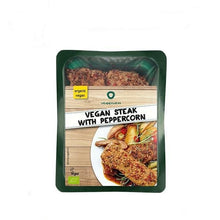 Load image into Gallery viewer, Vegan Steak with Peppercorn 175g - VeganBox