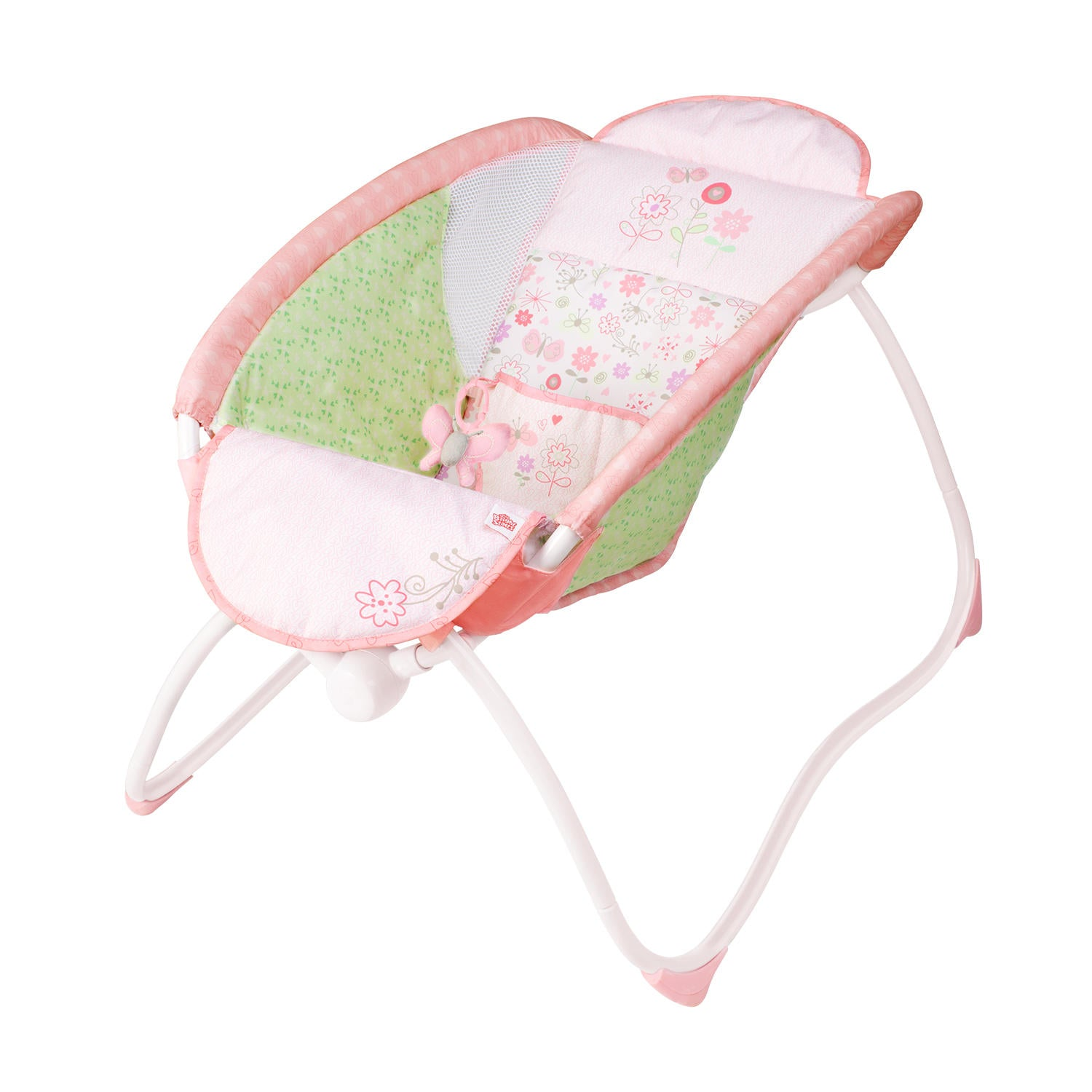 Bright Starts Pretty In Pink Playtime To Bedtime Sleeper - Model 60163