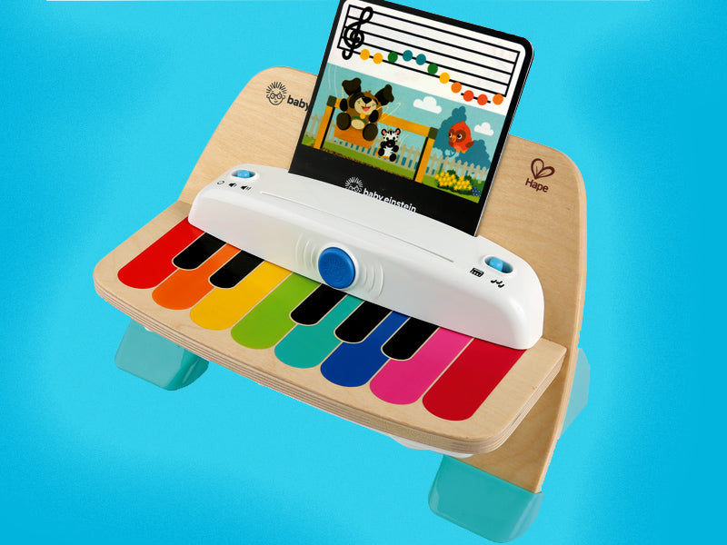 ingenuity child piano toy