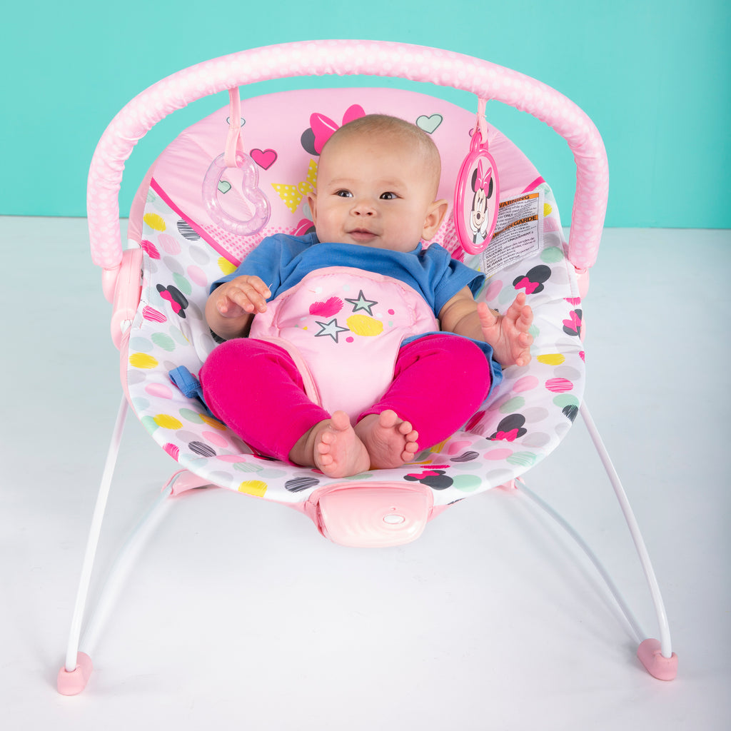 young baby in high chair