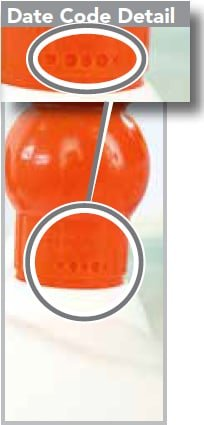 Date Code Bright Starts Bounce Bounce Baby Toy