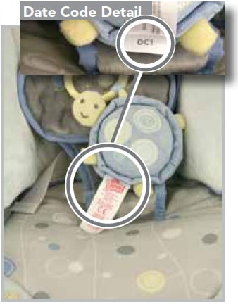 Ingenuity Cradle and Sway Swing Plush Toy