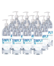 Load image into Gallery viewer, Simply Sanitizer - 12 pack 32oz with pump
