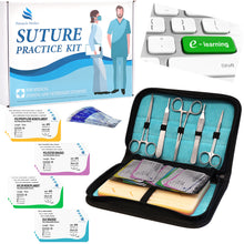 Load image into Gallery viewer, Complete Suture Practice Kit for Medical Students