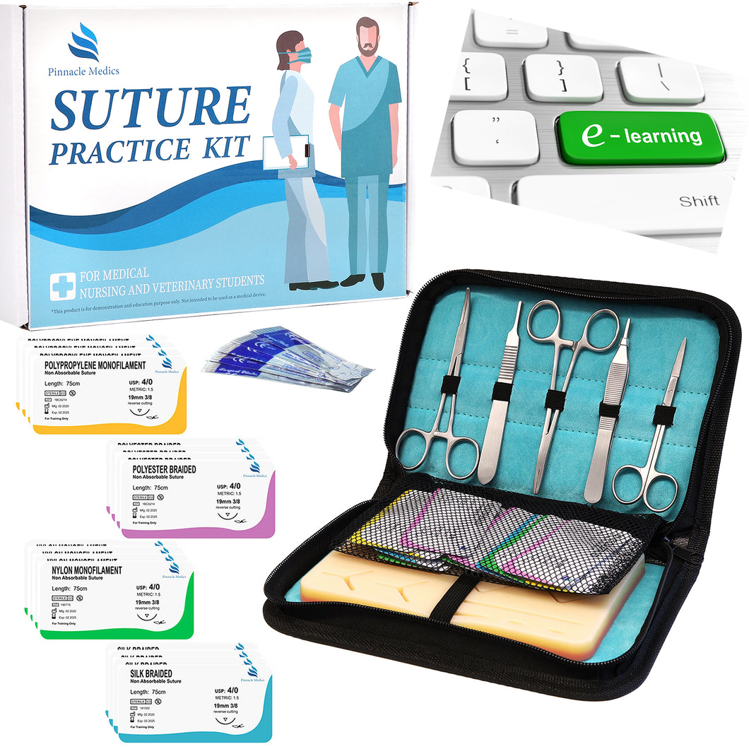 Complete Suture Practice Kit for Medical Students