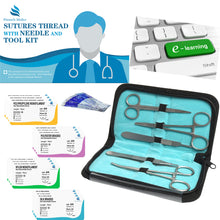 Load image into Gallery viewer, Essential Suture Practice Kit for Suture Training