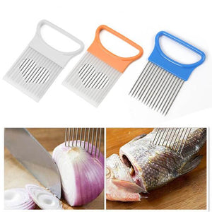 Food Slice Assistant | Onion Holder Slicer