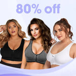 Load image into Gallery viewer, Jonie Bra - Upright Breast Lifter Zip Front Seamless Wireless Comfort Extra-Elastic Sport Bra