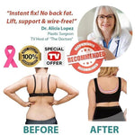 Load image into Gallery viewer, BEE BRA - Plus Size Comfort Extra Elastic Wireless Support Lace Bra (From M to 5XL)