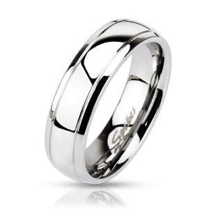 Simply Classic Stainless Steel Ring - Empress of Virtue