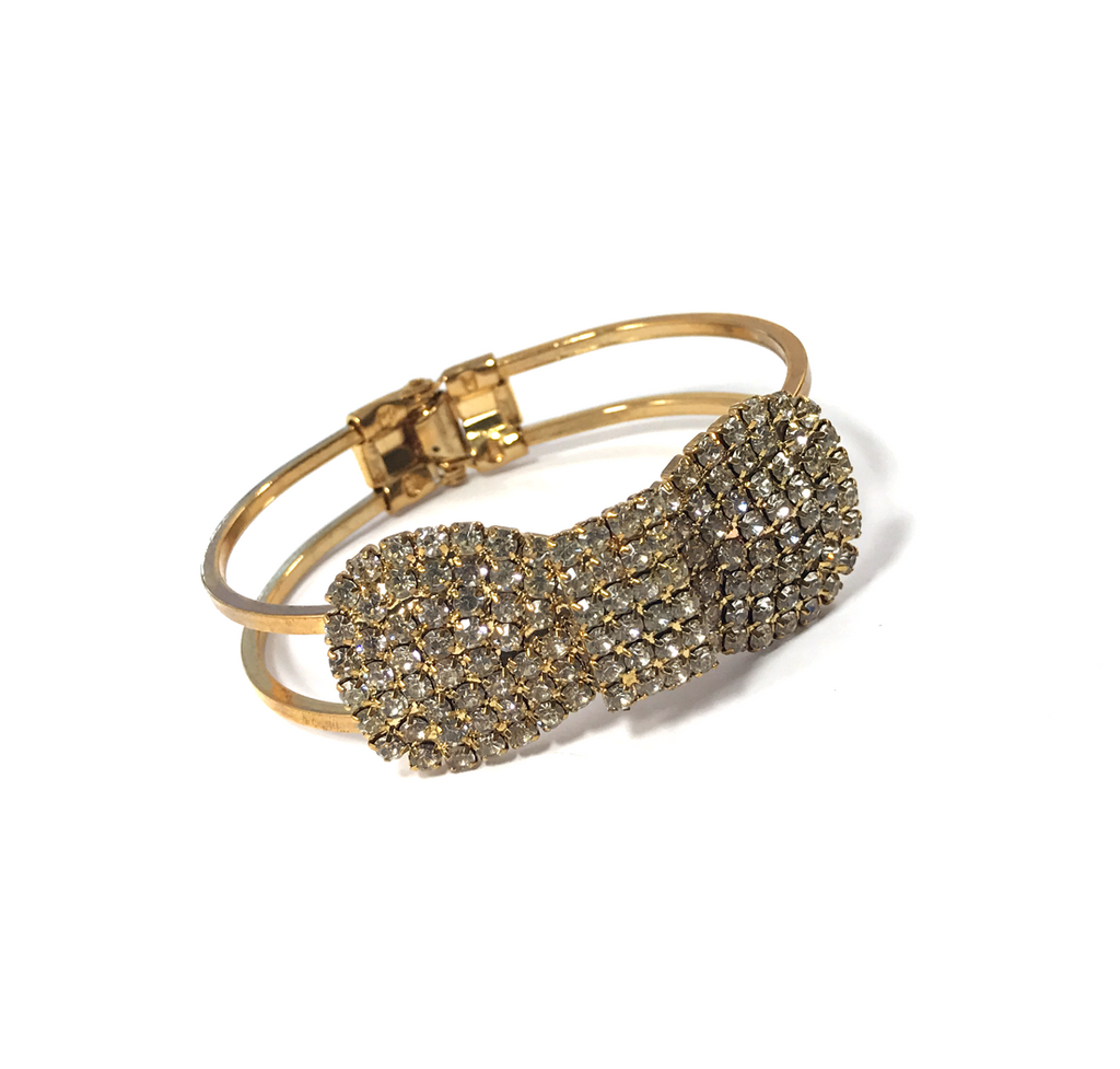 Crystal Cuff Bracelet - Empress of Virtue