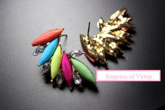 Fiery Earrings - Empress of Virtue - 3