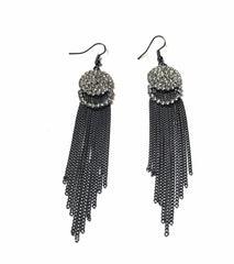 Art Deco Tassel Earrings - Empress of Virtue