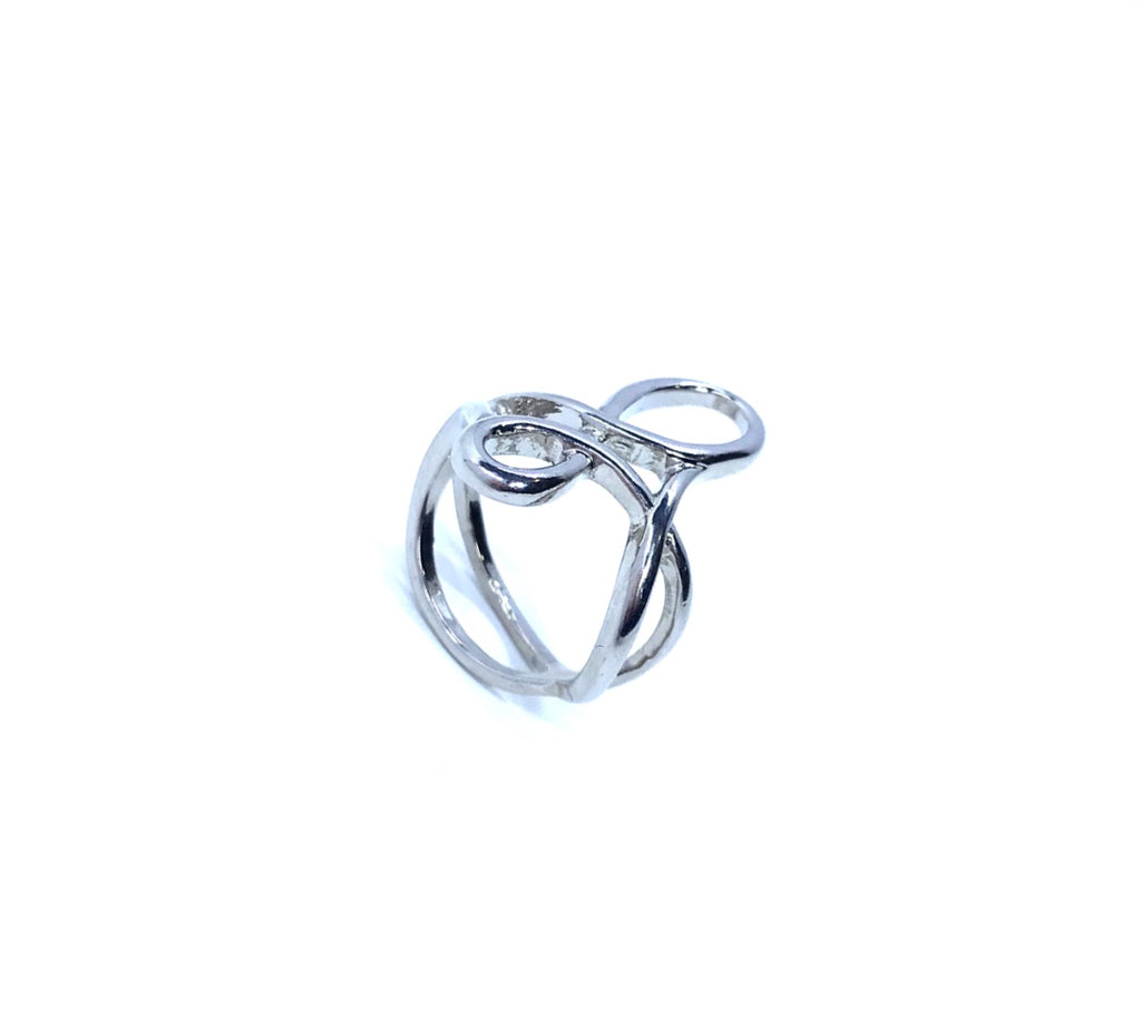 Sterling Silver Infinity Ring - Empress of Virtue