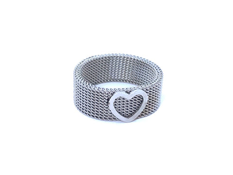 Woven Stainless Steel Ring