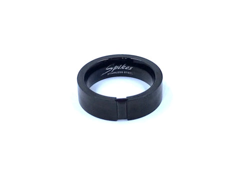 Stainless Steel Ring, Black Gem Stainless Steel, Black Stainless Steel Ring