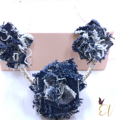 Denim Chain Necklace - Empress of Virtue