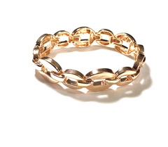 Rose Gold Chain Link Bracelet