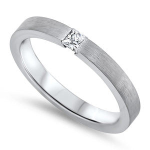 Dome Eternity Ring (Square) - Empress of Virtue