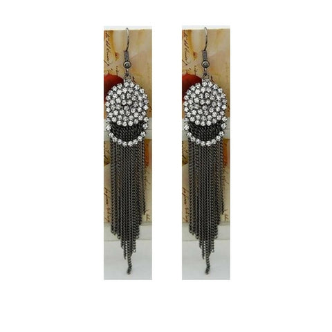 Art Deco Tassel Earrings