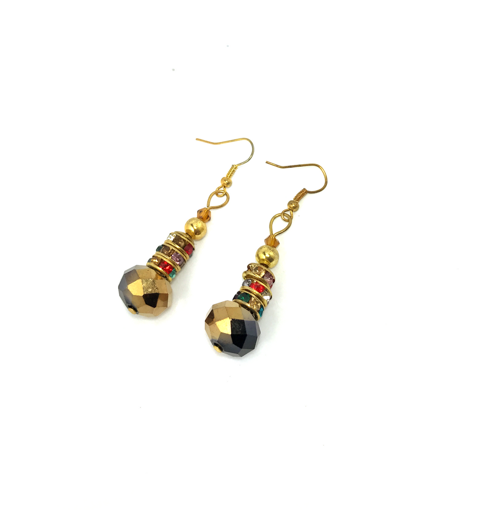 Tall Chai Earrings - Empress of Virtue