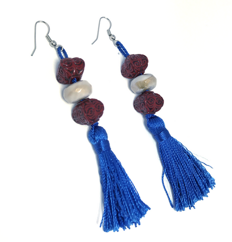 Royal Tassels Earrings