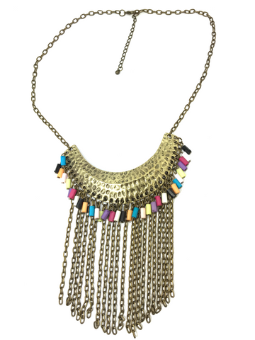 Indian Tassels Necklace