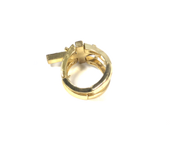 Cross Love Ring
