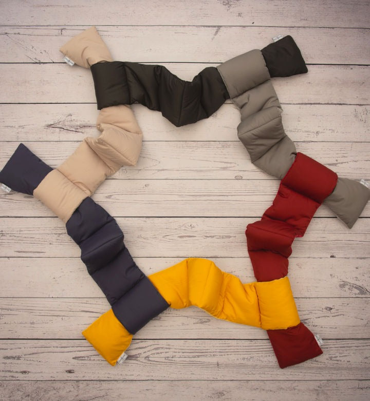 Puffer Scarves For Men And Women From The Pack Wolf Company