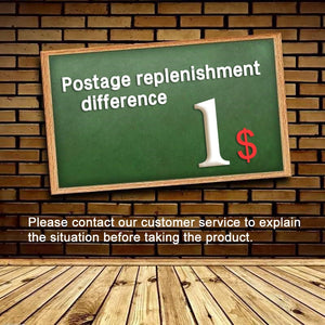 Postage Replenishment Difference Please contact our customer service to explain the situation before taking the product