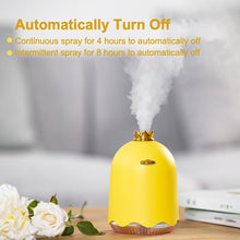 Load image into Gallery viewer, ANIMORE 250ML Ultrasonic Air Humidifier Aroma Essential Oil Diffuser for Home Car USB Fogger Mist Maker with LED Night Lamp