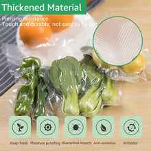 Load image into Gallery viewer, ANIMORE Household Vacuum Food Bag 20cm x 500cm 1 Roll for Kitchen Vacuum Plastic Storage Bags Food Fresh Long Keeping Saran Wrap