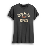 Harley Davidson Women's Distressed Graphic Tee