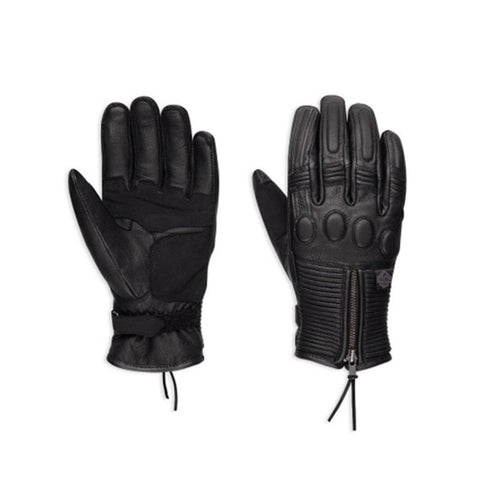 Harley Davidson Women's Relay Leather Gloves