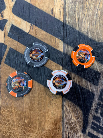 Gateshead Harley-Davidson® Custom Poker Chip