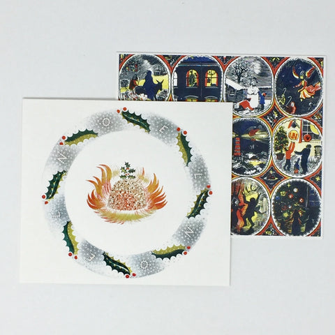 Eric & James Ravilious,  Christmas Cards - 6 card pack