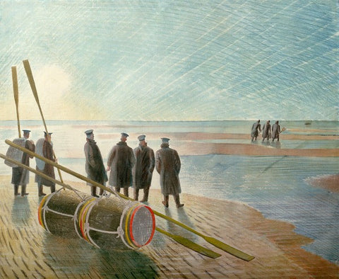 Eric Ravilious, Dangerous Work at Low Tide (1940) - Limited Edition