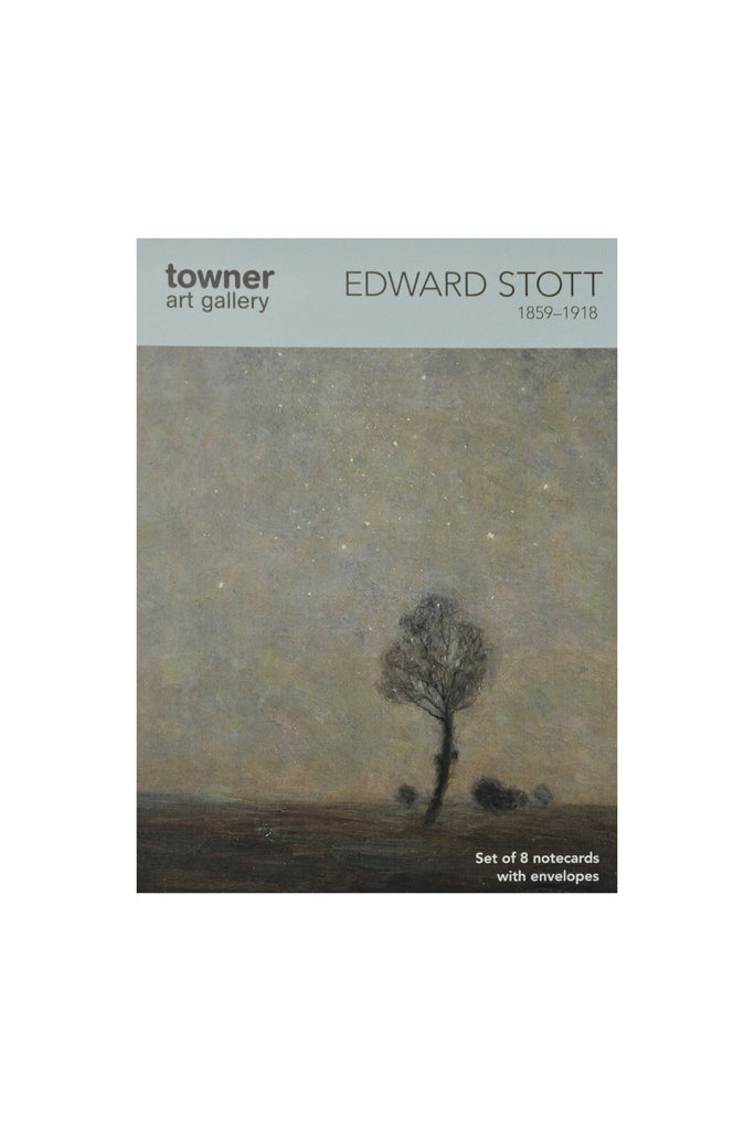 Notecards - Starlight Landscape by Edward Stott (1855-1918)