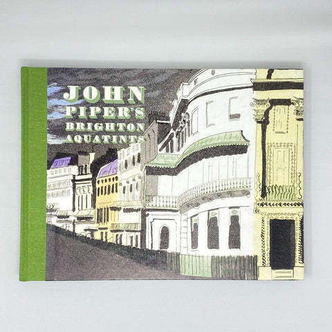 John Piper's - 'Brighton Aquatints' Book
