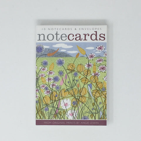Angie Lewin Notecards - pack of 10 cards / 5 each, 2 designs NL108