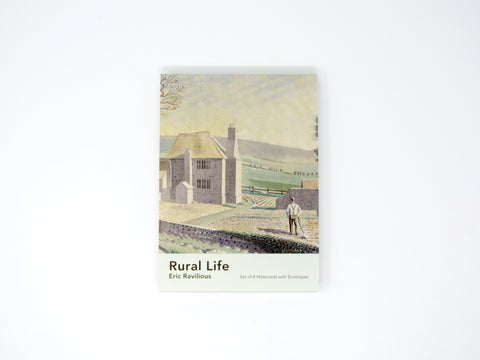 Notecards - Eric Ravilious, Rural Life (pack of 8)